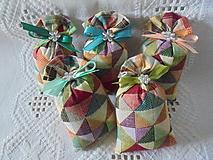 Darčeky pre svadobčanov - Svadobné levandulové vrecká - 10846503_