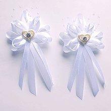 Pierka - Luxusné svadobné pierka - 10847777_