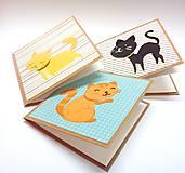 Papiernictvo - Malé pohľadnice pre deti ... - 10850635_