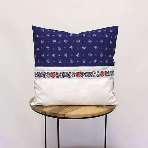 obliečka na vankúš Ľúbezná modrá (3veľkosti)