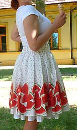 Sukne - Melónová sukňa - 10850888_