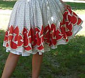 Sukne - Melónová sukňa - 10850892_