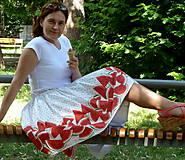 Sukne - Melónová sukňa - 10850912_