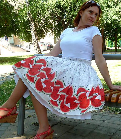Melónová sukňa