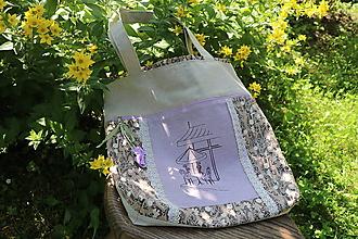 Nákupné tašky - Nákupná taška na plece - 10849312_
