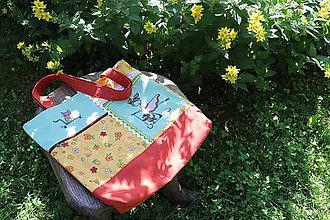 Nákupné tašky - Nákupná taška na plece - 10849385_