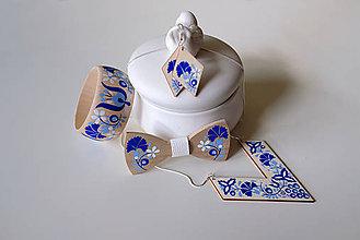 Sady šperkov - DREVENÁ MAĽOVANÁ SADA - 10849589_