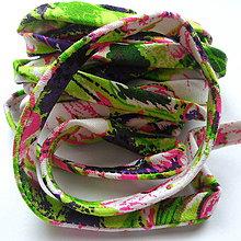 Galantéria - Textilný remienok-1m - 10851147_