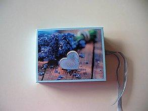 Krabičky - obal na foto a CD