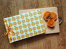 Papiernictvo - Fotoalbum klasický, polyetylénový obal s potlačou ovocnou - 10851435_