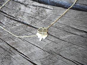 Iné šperky - Štvorlístok pre štastie - 10849759_