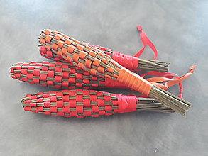 Dekorácie - Levanduľová šiška XL (Oranžová) - 10850402_