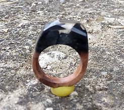 Prstene - Prsteň dark - 10850704_