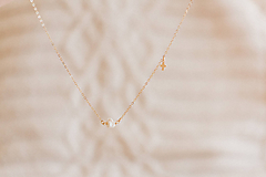 Náhrdelníky - Perla na zlatej retiazke / gold filled - 10849473_