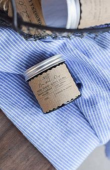 Svietidlá a sviečky - Sójová sviečka 130g v hnedom sklíčku (Čerstvo upečený chlieb) - 10851339_