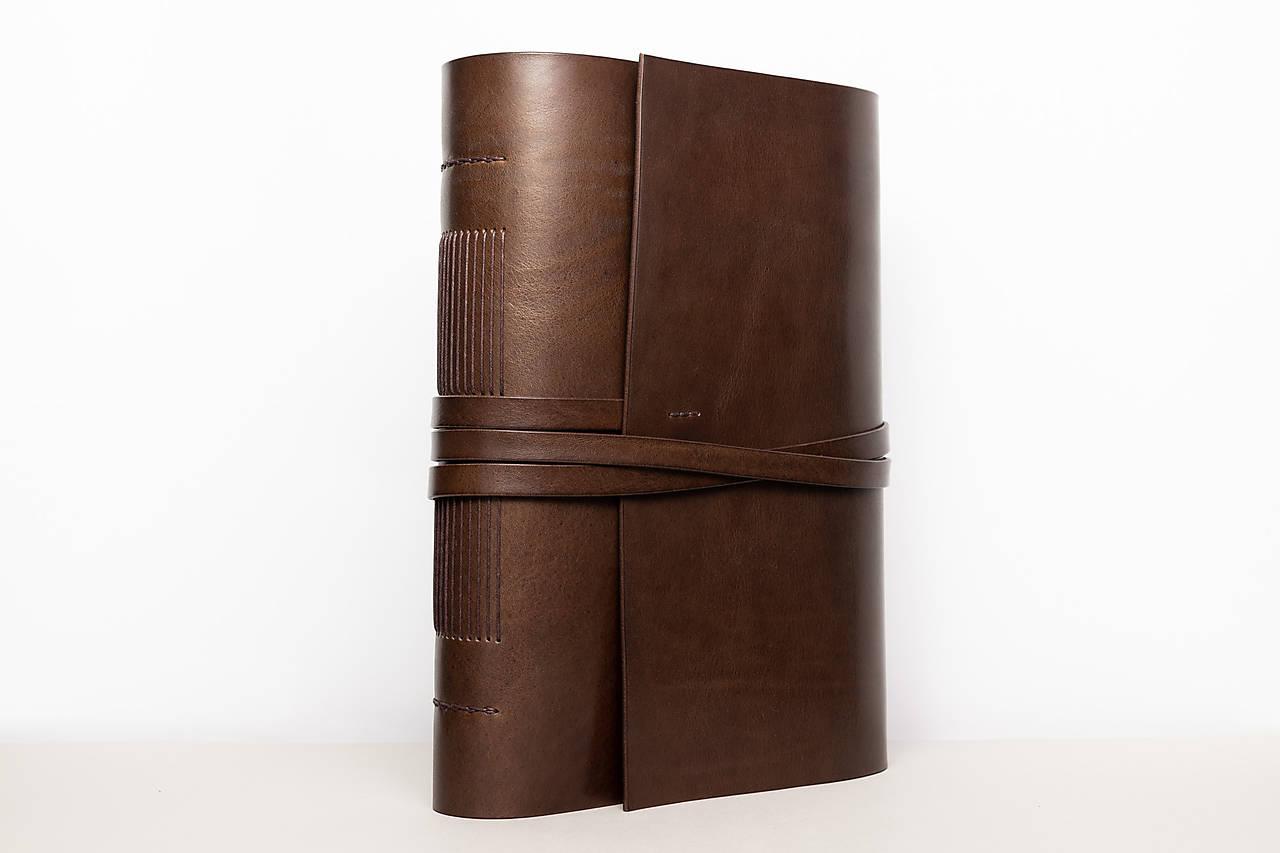 Kožený zápisník Zigmund