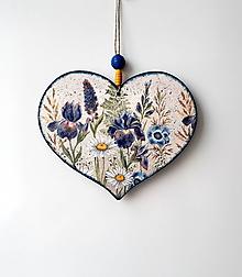 Tabuľky - tabuľka na dvere lúčne kvety - 10851354_