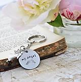 Kľúčenky - My angel - ochranná kľúčenka - 10849620_