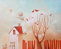 Obrazy - za domom - 10852099_