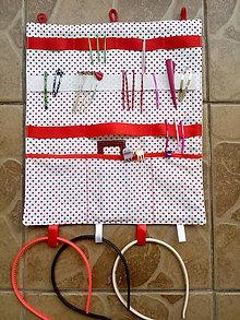 Textil - Organizér 1 pre malé slečny. - 10851862_
