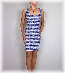 Šaty - Šaty chladivý úplet vz.482 - 10851599_