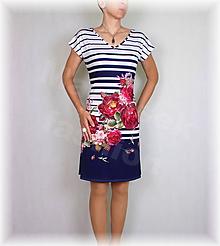 Šaty - Šaty chladivý úplet vz.483 - 10851601_
