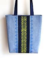 Veľké tašky - Riflová taška - 10852203_