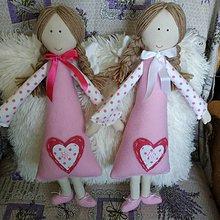 Hračky - anjeliky maznáčiky - 10852236_