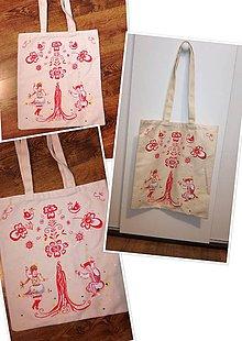 Nákupné tašky - Radosť vyjadrená tancom - 10852003_