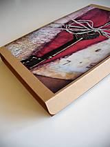 Papiernictvo - vintage obal na foto - 10852337_