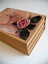 Papiernictvo - vintage obal na foto - 10852351_