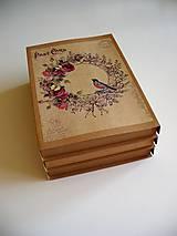 Papiernictvo - vintage obal na foto - 10852360_