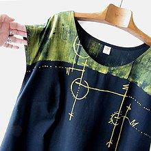 Šaty - LABYRINT - šaty modrotiskové - 10851679_