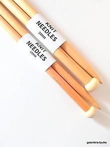 Galantéria - ihlice drevené MAXI 15-20-25mm (20mm) - 10851853_