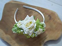 Biela kvetinová  - ivory