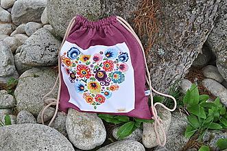 Batohy - Vak folk srdce - 10851639_