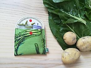 Úžitkový textil - Súprava vreciek na nákupy - zeleninka - 10852410_