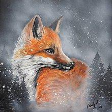 Obrazy - malá líška - 10852451_