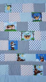 Textil - Pekné sny s macíkmi...patchworková deka - 10852276_
