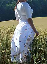 Sukne - Sukienky darované od babičky - 10855130_