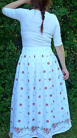 Sukne - Sukienky darované od babičky - 10855133_