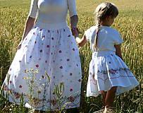 Sukne - Sukienky darované od babičky - 10855134_
