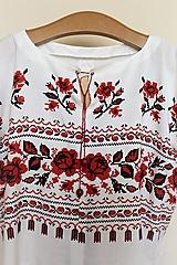 """Topy - top s ružami """"falošný"""" - 10853627_"""