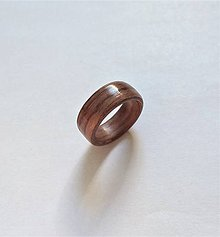 Prstene - Drevený prsteň- Palisander svetlý - 10854469_