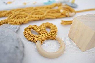 Hračky - macramé set pre bábätko