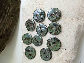 Iné doplnky - keramické gombíky - 10853857_