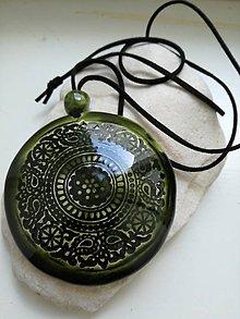 Iné šperky - guľatý prívesok 2 - 10853914_