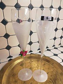 Darčeky pre svadobčanov - Svadobné pohare - 10853582_