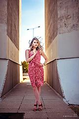 Šaty - Letné šaty na zapínanie - 10854706_