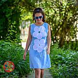 Šaty - Origo šaty kvety... - 10854502_